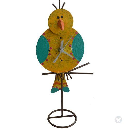 Reloj canario mesa amarillo