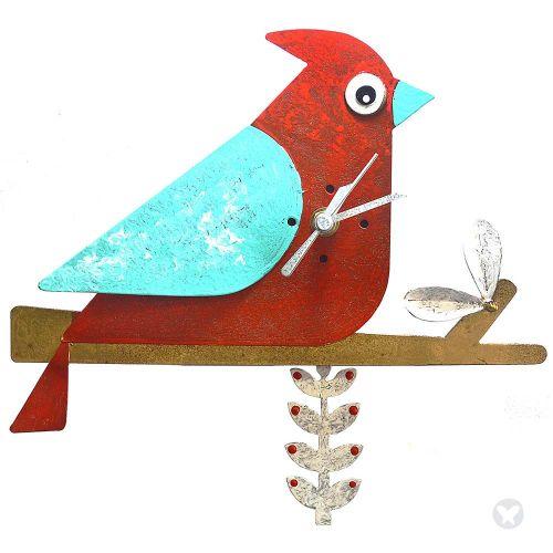 Reloj cardenal rojo