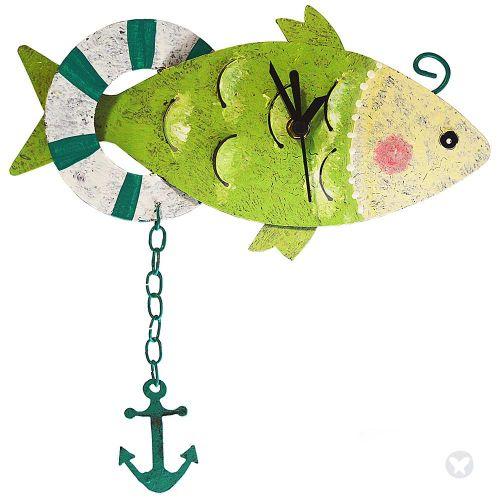 Reloj pez con ancla verde