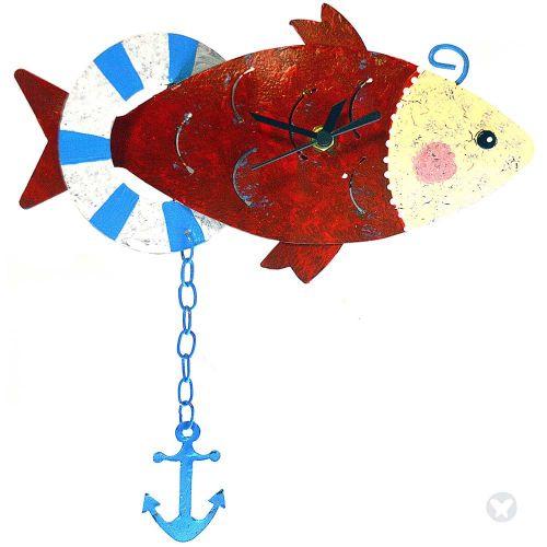 Reloj pez con ancla rojo