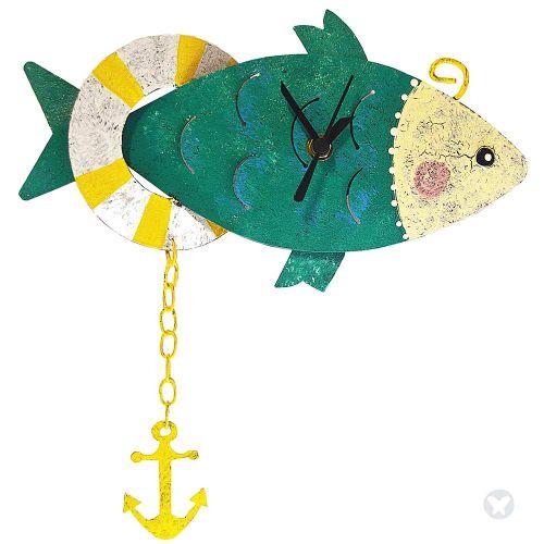Reloj pez con ancla aguamarina