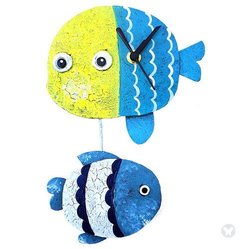 Reloj pez amarillo