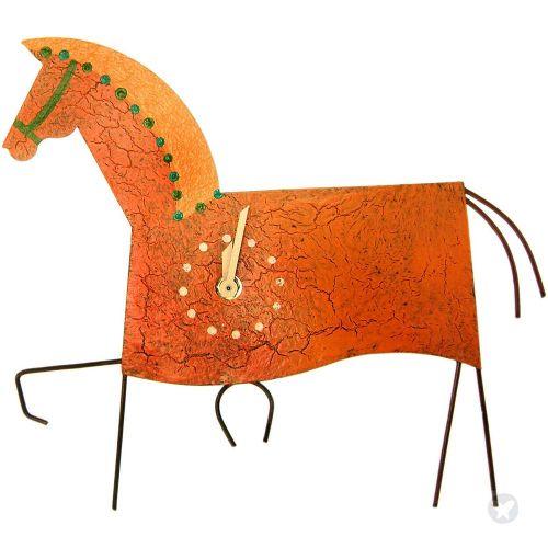 Reloj caballo naranja