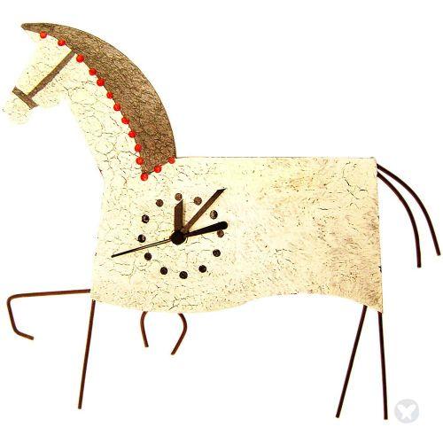 Reloj caballo blanco