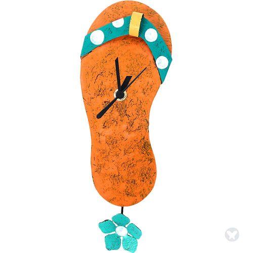 Reloj sandalia naranja