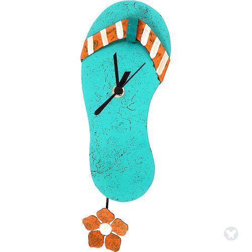 Reloj sandalia aguamarina