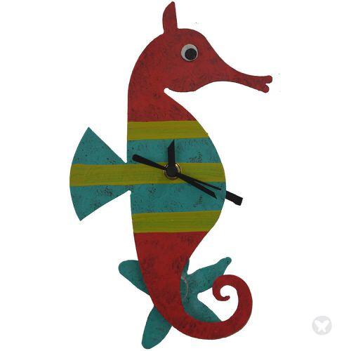 Reloj caballo de mar rojo