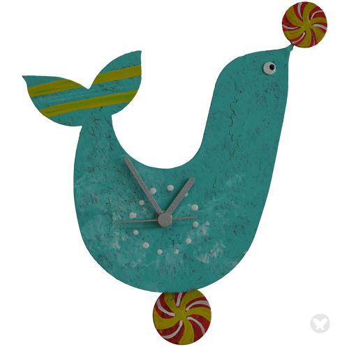 Reloj foca aguamarina