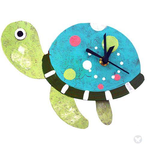 Reloj tortuga aguamarina